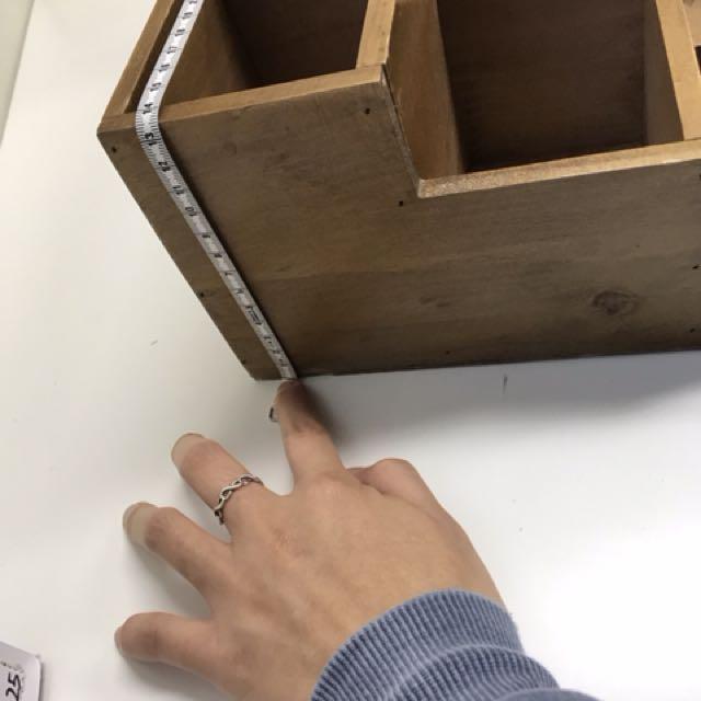 木箱 飾物櫃 收納箱 置物箱 兩個