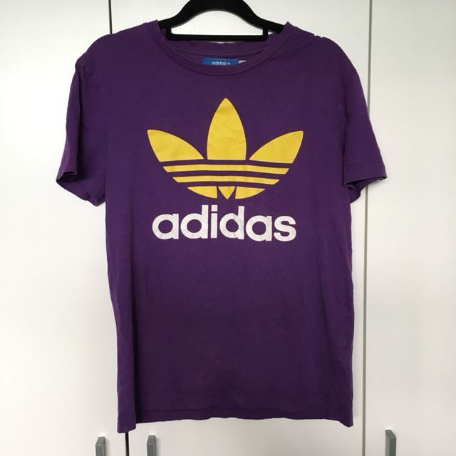 🦄 Adidas Purple Tshirt