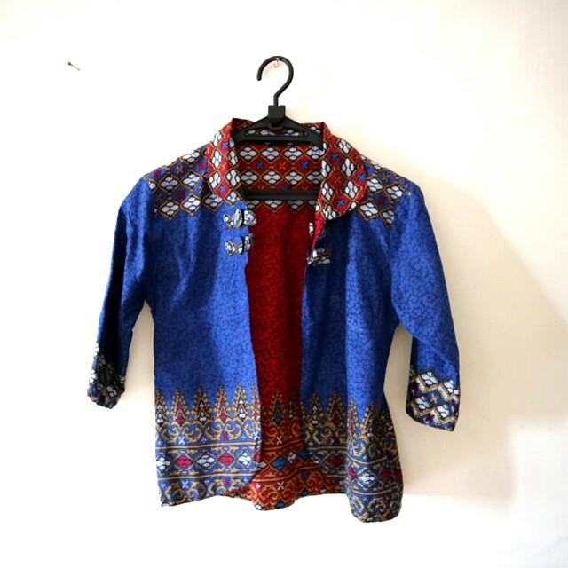 💕 Batik Cardigan 2in1