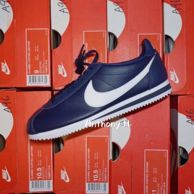 全新 Nike Classic Cortez 阿甘 海軍藍 公司貨