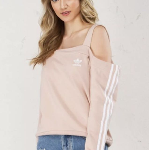 ADIDAS OFF THE SHOULDER JUMPER