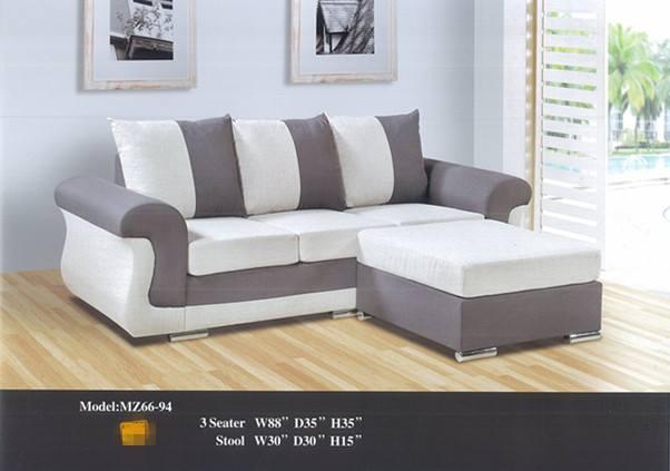Ansuran Bulanan Murah Sofa L Shape Model 6694 Home Furniture