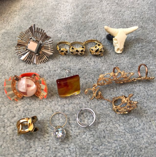 Assorted rings $15 each