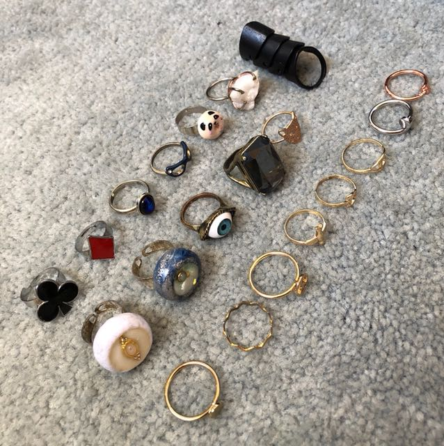 Assorted rings $5