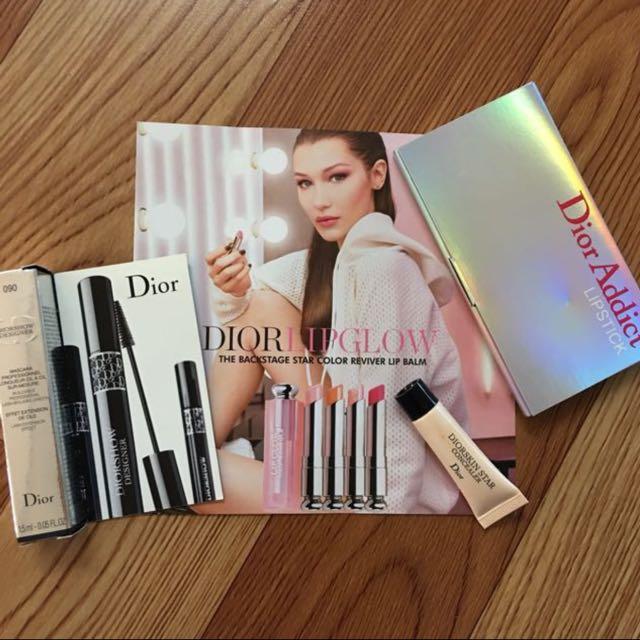 Authentic Dior Makeup Sample Set