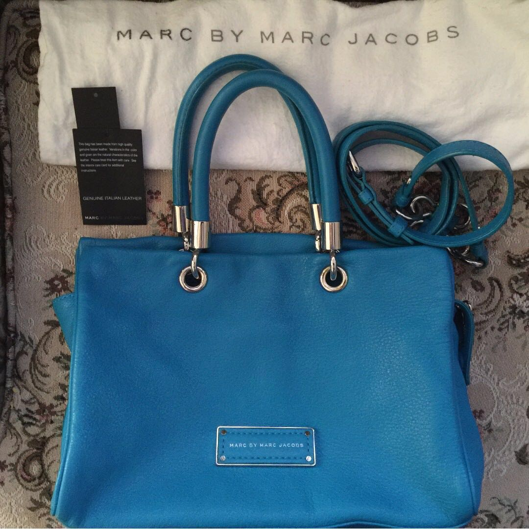 AUTHENTIC MARC BY MARC JACOBS TOO HOT TO HANDLE SATCHEL / CROSSBODY
