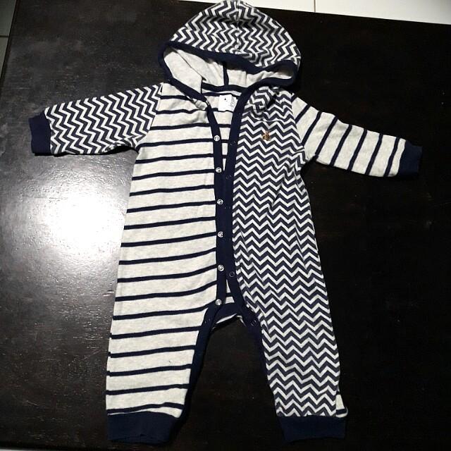 babyGap sleepwear with hoodie
