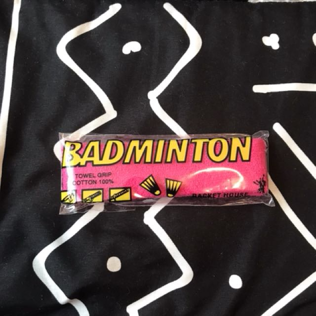 badminton towel grip