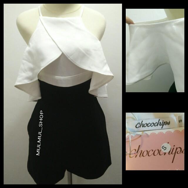 Baju Jumpsuit Mini Wanita