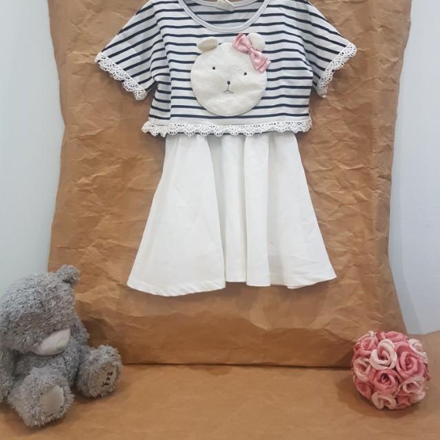 Bear Stripes Dress