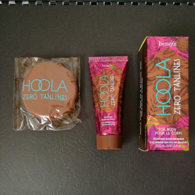 Benefit Body bronzer + brightening face powder!