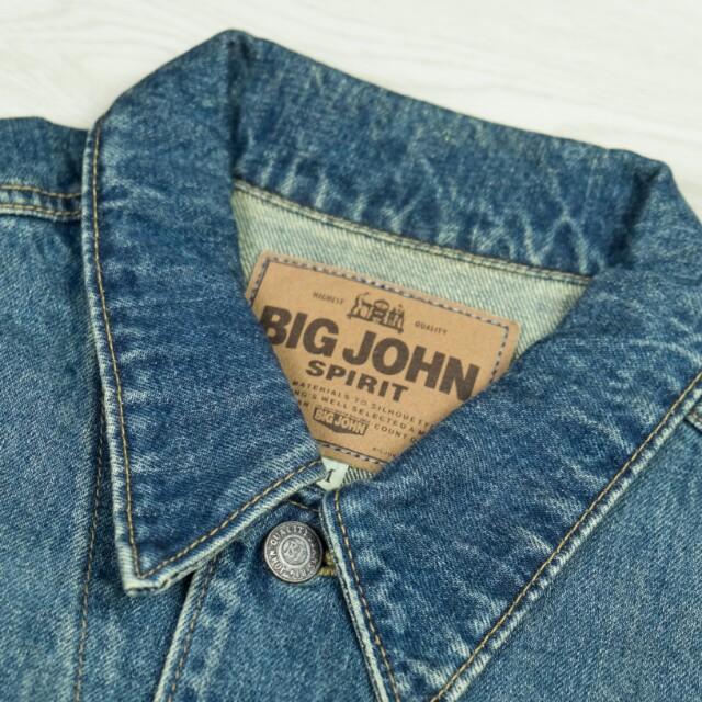 男裝古著日本老牌big john牛仔褸
