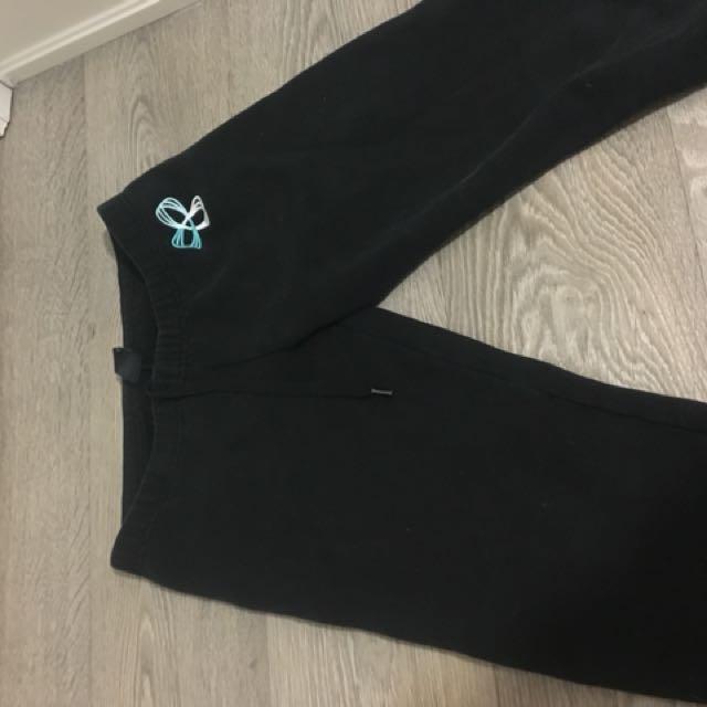 Black tna sweatpants