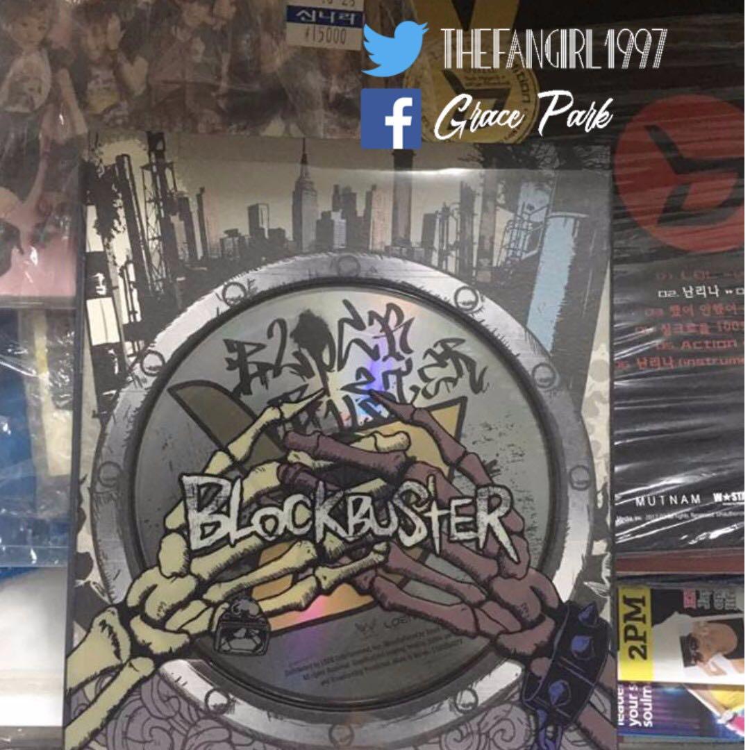 BLOCK B BLOCKBUSTER ALBUM WITH POSTER
