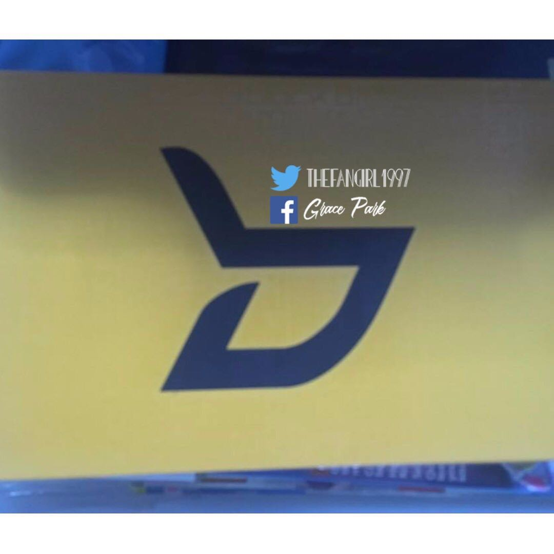 BLOCK B WELCOME TO THE BLOCK REPACKAGED ALBUM WITH POSTER