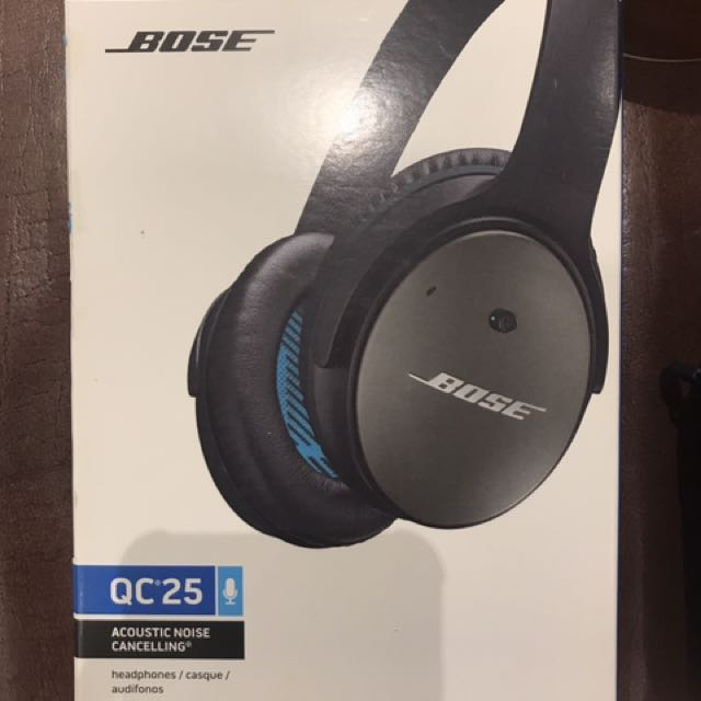 76363c21429 Bose QuietComfort 25 (QC25) Noise Cancelling Headphones For Apple ...