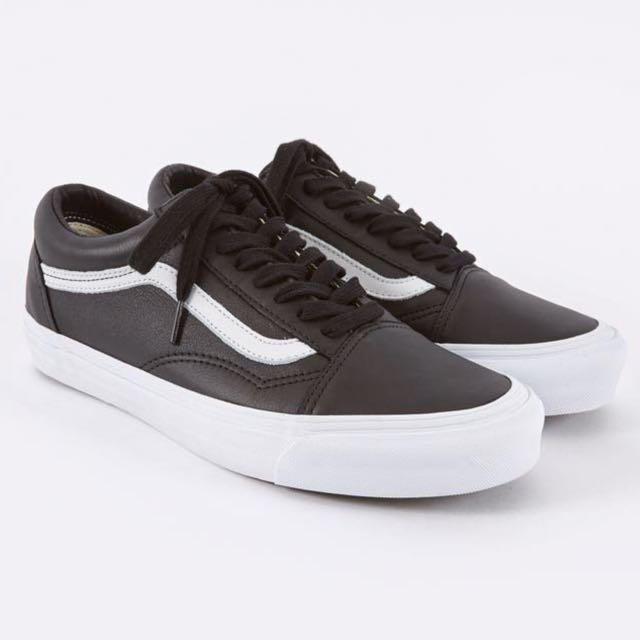 23303915d7a2 Brand New  Vans Vault OG Old Skool LX Black Leather