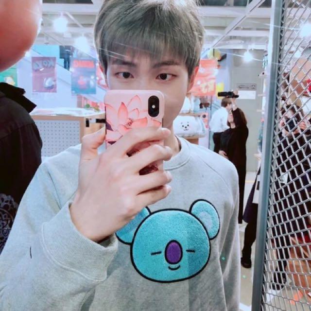 BTS RM BT21 Koya Shirt (PO), Entertainment, K-Wave on ...