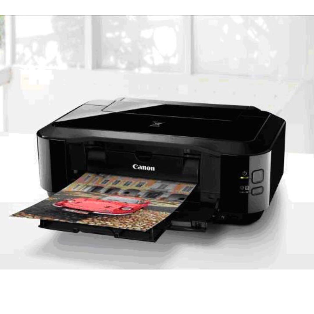 Canon PIXMA iP4970 旗艦 光碟 相片 印表機