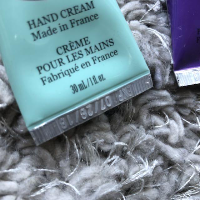 Chatelaine Hand cream x4