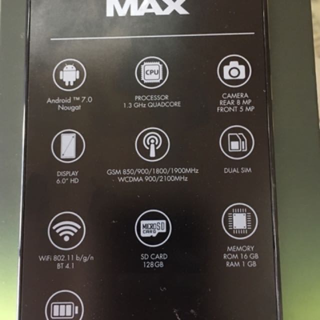 CherryHdMax One year Warranty