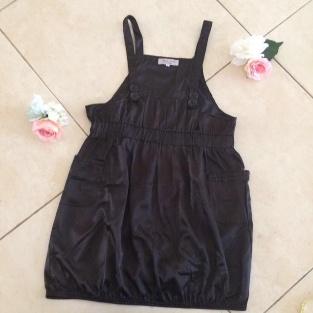 Chic Black Overall