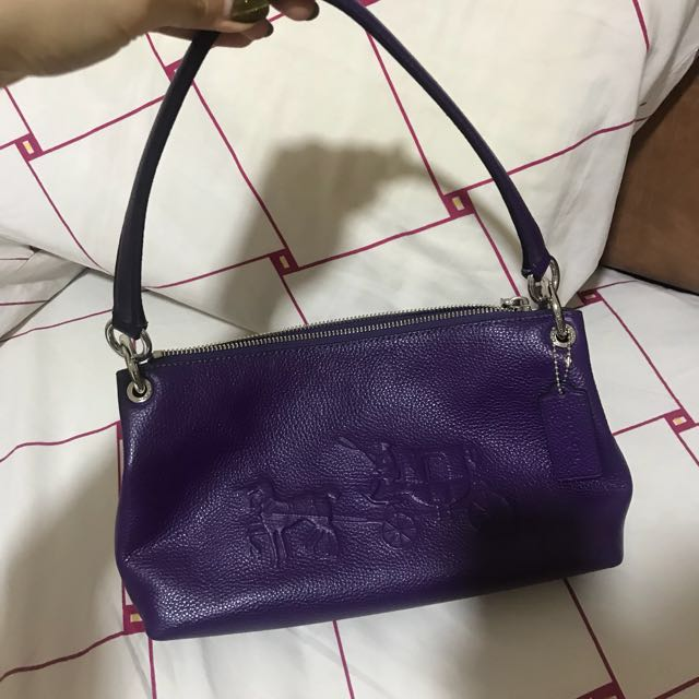Coach Purple Bag