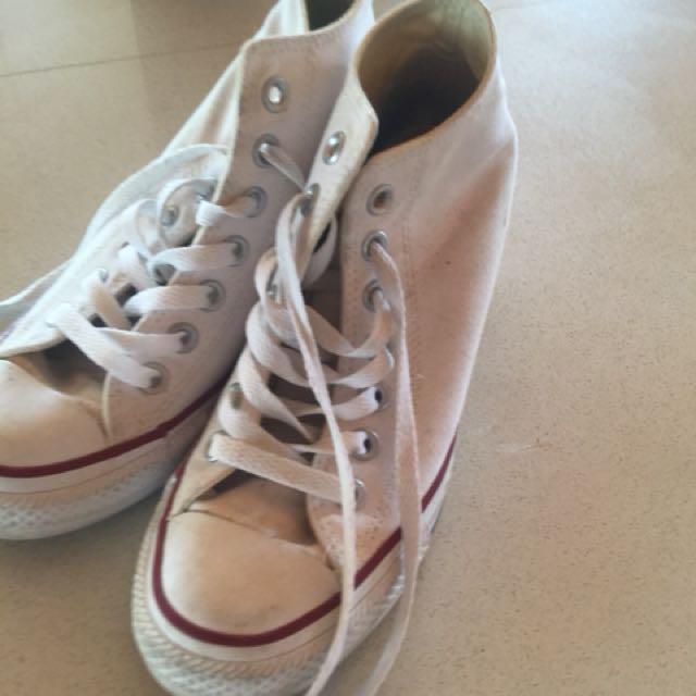 Converse high heel