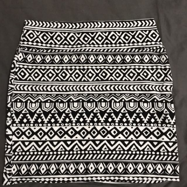 Cotton On Skirt (Aztec)