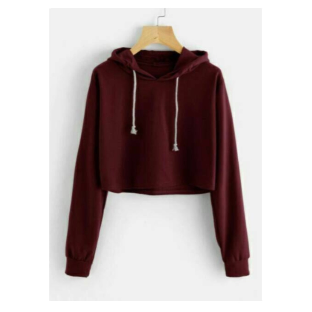 Crop Sweater : Basic Color