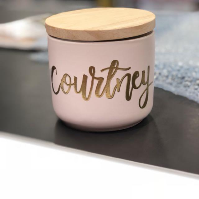 Custom Name Jar