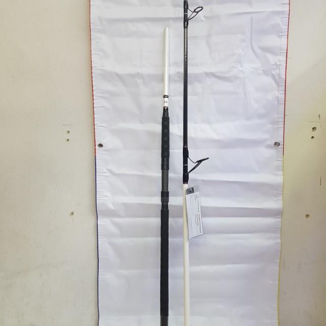 The 'DAIWA' Mid-High End !! UK Version Spinning Surf Casting Rod In Place !  (TEAMDAIWA - TDSURF 1002MHFS 10'0
