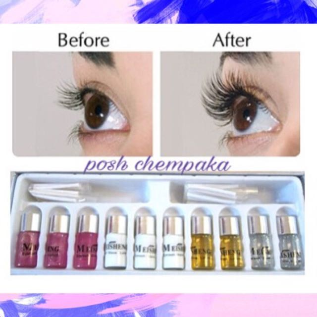 Diy Eyelash Perming Kit Readystock Health Beauty Perfumes