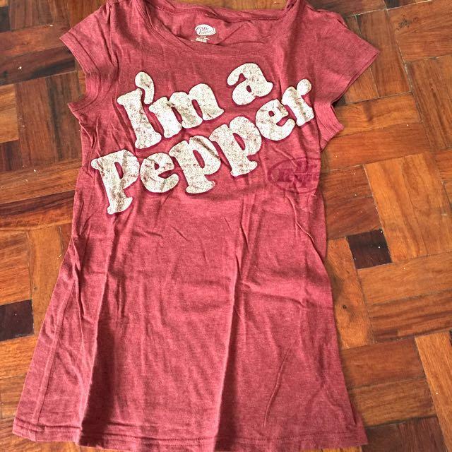 Dr. Pepper Red Shirt
