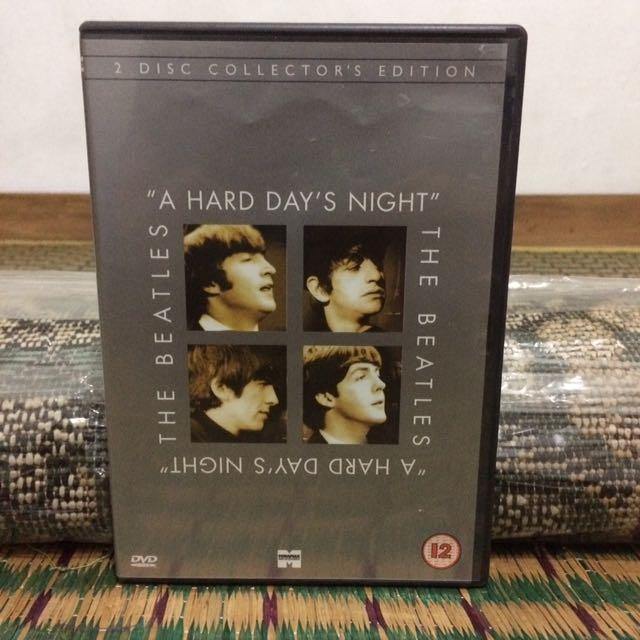 "Dvd The Beatles ""A Hard Day's Night"" original"