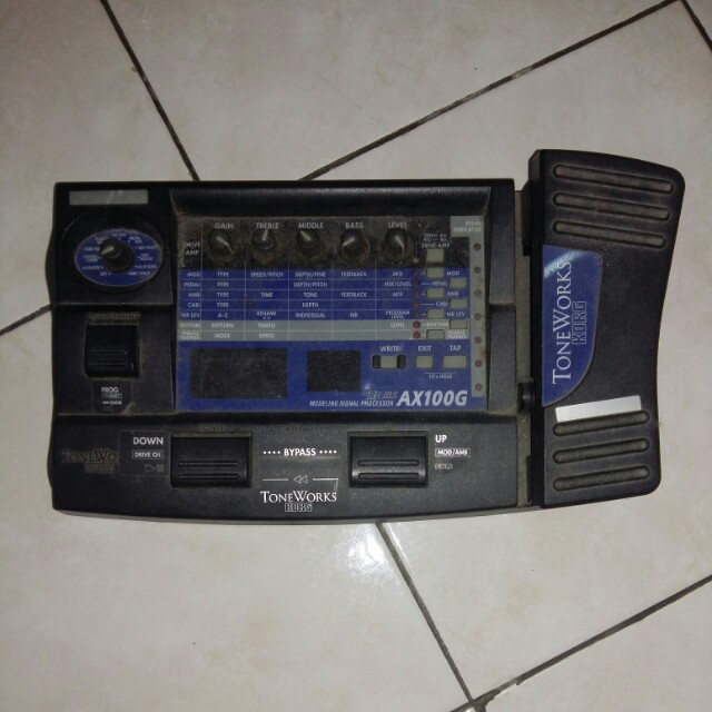 effect toneworks korg ax100g electronics others on carousell rh my carousell com