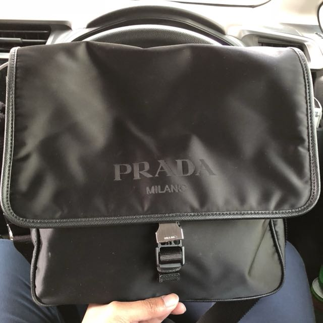 ... new zealand genuine prada sling bag man mens fashion bags wallets on  carousell 0fd1d 3d40d 8567e52f8f7b1