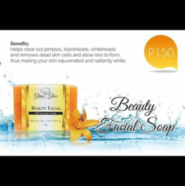 Glam and Glow Beauty facial soap