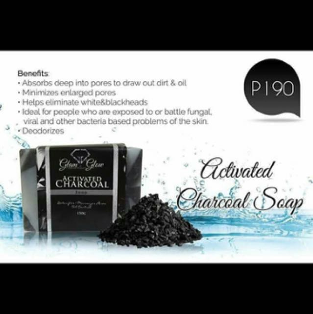 Glam and Glow Charcoal soap