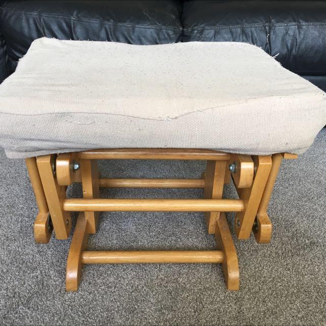 Phenomenal Glider Chair Nursing Chair Stool Ncnpc Chair Design For Home Ncnpcorg