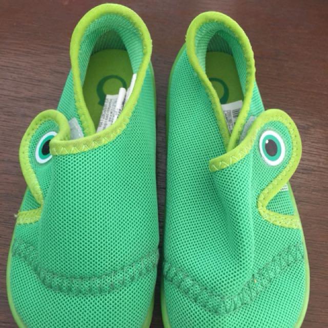 Green Beach Shoes