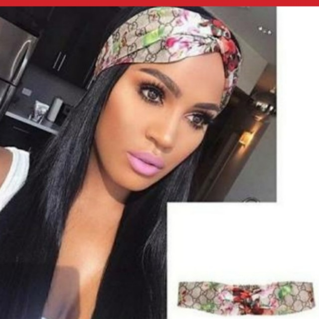 0a8ab95c634 GUCCI INSPIRED HEADBAND FLORAL