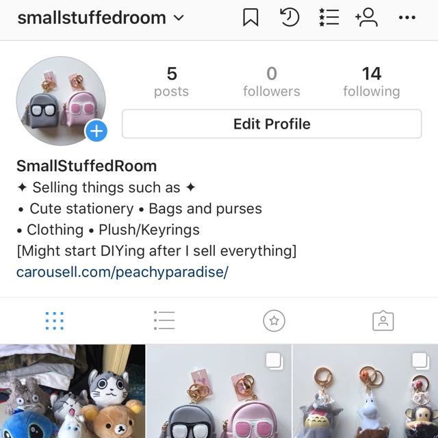 I have an insta shop now