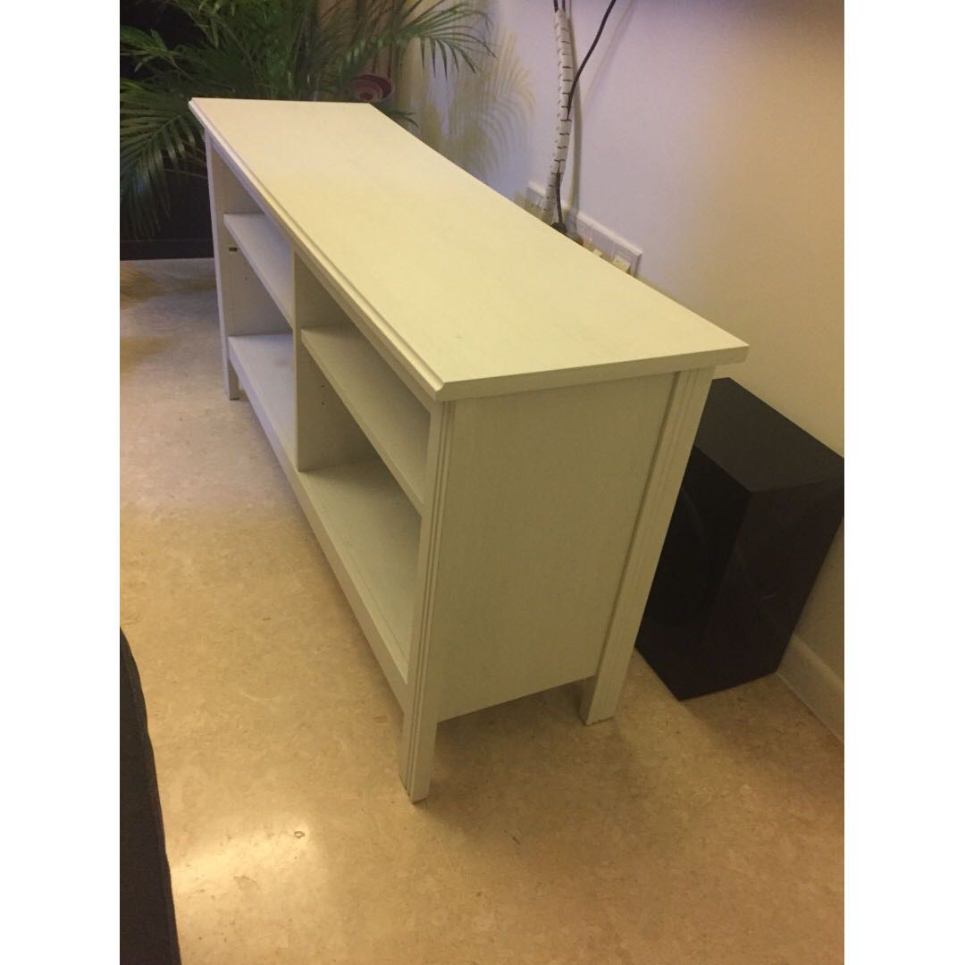 Miraculous Ikea Brusali Tv Bench White Furniture Others On Carousell Gmtry Best Dining Table And Chair Ideas Images Gmtryco