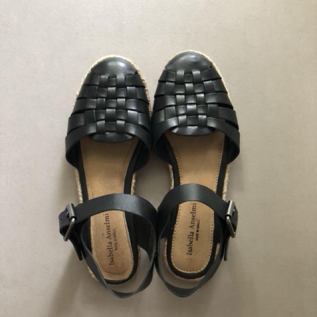 Isabella Anselmi Black Sandal