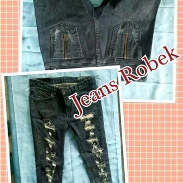Jeans robek kekinian