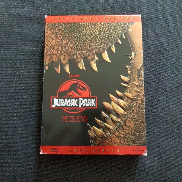 Jurassic Park 1 and 2 box set