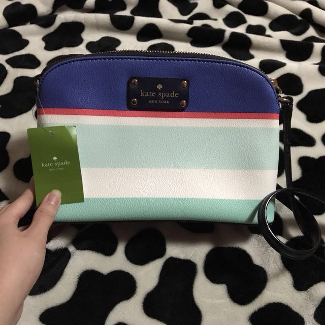 Kate Spade Wellesley Printed Tropical Stripe