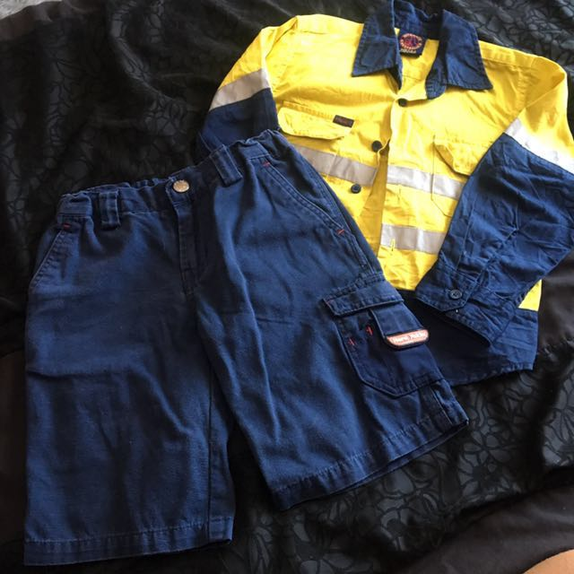 Kids tradie clothes