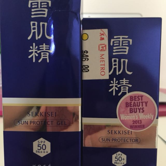 KOSE Sun Protector and Gel